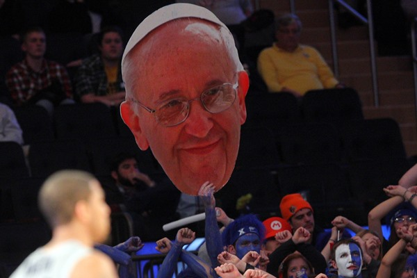 The Pope Messing With NHL Preseason Game