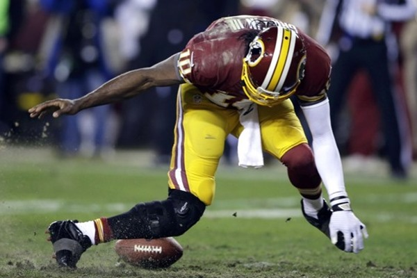 Washington Redskins Share Blame in Injury to Robert Griffin III