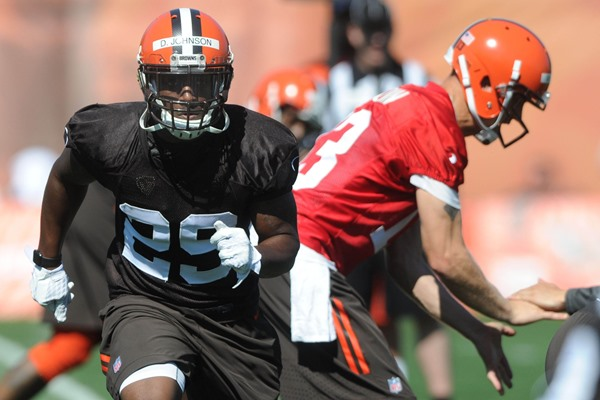 Duke Johnson Suffers Concussion as Browns RB Situation Remains Unsettled