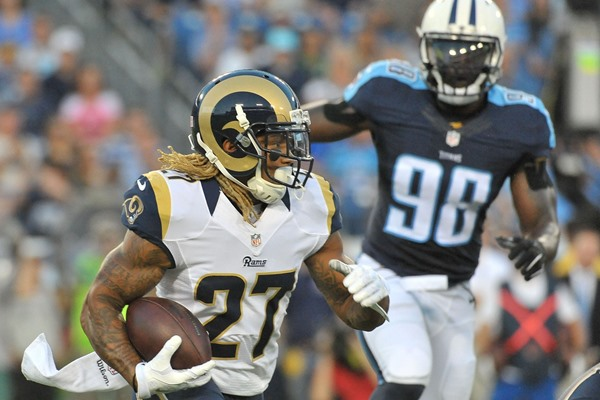 Report: Tre Mason Questionable for Week 1 with Hamstring Injury