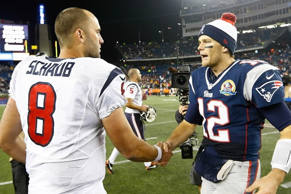 NFL Playoffs: Statistical Predictions for Tom Brady and Matt Schaub