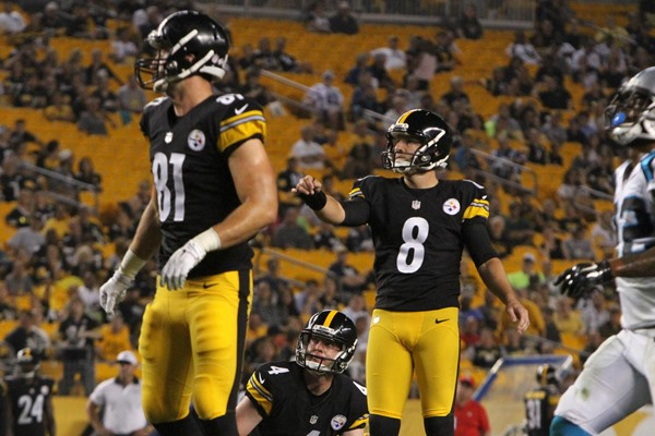 Pittsburgh Steelers Release Josh Scobee