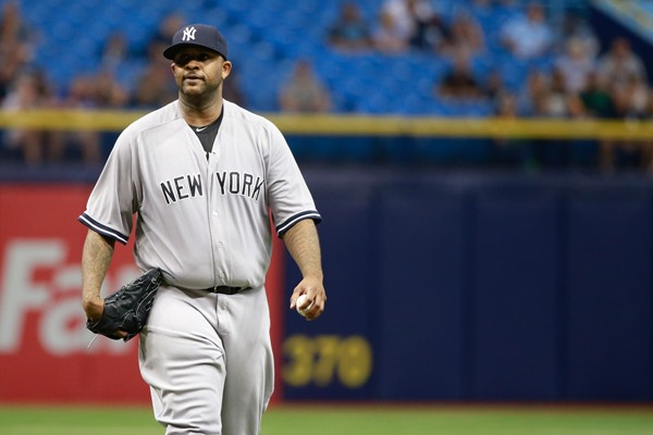 CC Sabathia to Enter Alcohol Rehab, will miss the Playoffs
