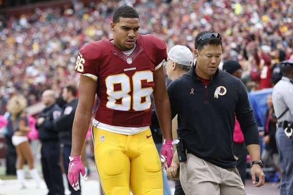 Jordan Reed Ruled Out for Week 5