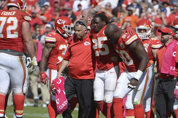 Report Confirms That Jamaal Charles Has a Torn ACL
