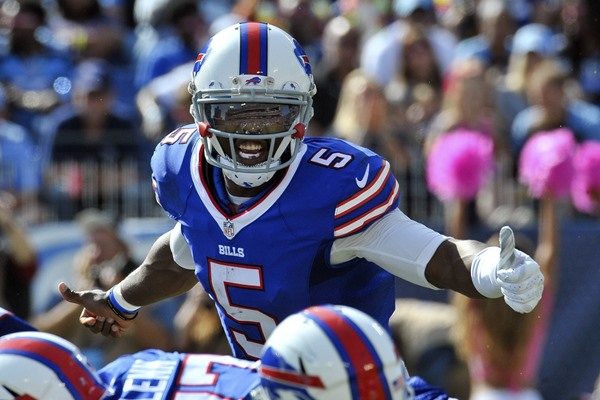 Report: Tyrod Taylor Could Miss Multiple with Sprained MCL