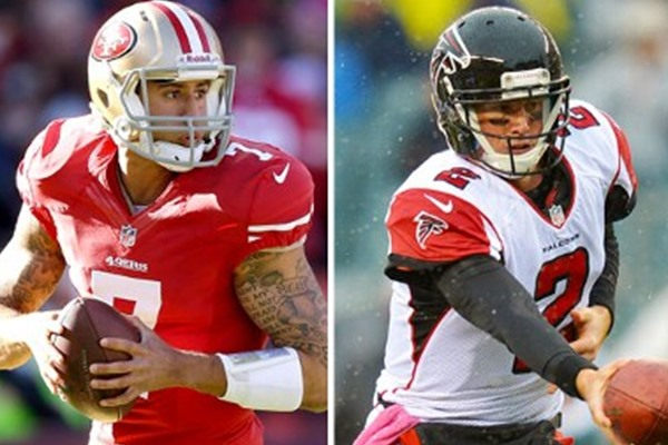 NFC Championship Game: Colin Kaepernick vs. Matt Ryan