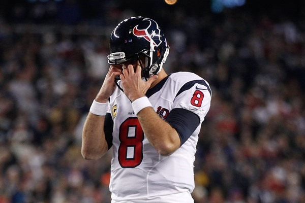 Should the Houston Texans Release Matt Schaub?