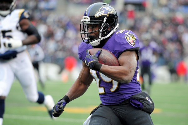 Justin Forsett Placed on Injured Reserve with a Broken Arm