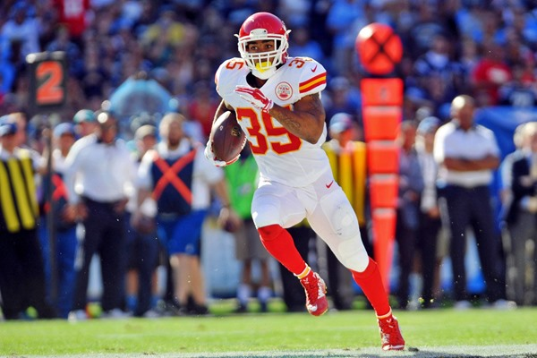 Kansas City Chiefs RB Charcandrick West and TE Travis Kelce Questionable to Play in Week 12