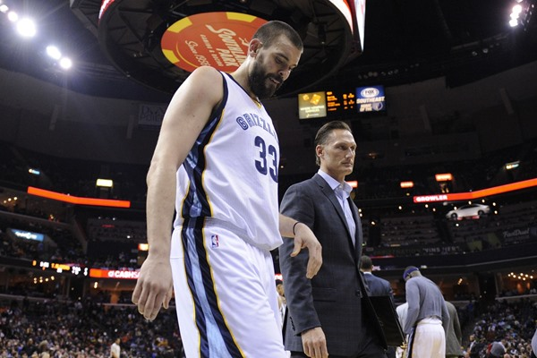 Marc Gasol Out Indefinitely with Broken Foot