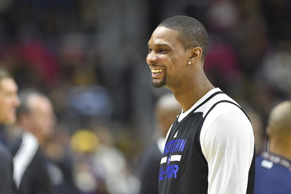 Chris Bosh to Miss All Star Weekend with Strained Calf