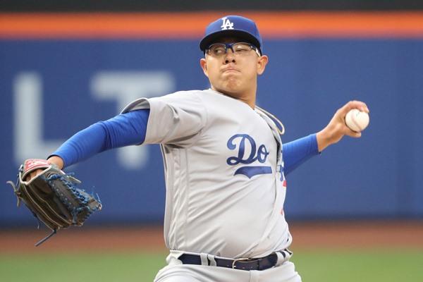 Julio Urias Lasts Just 2 2/3 Innings in MLB Debut