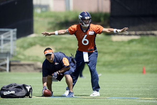 Can the Denver Broncos repeat with Mark Sanchez under center?