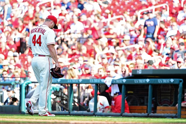 Cardinals RP Trevor Rosenthal Removed from Closer's Role