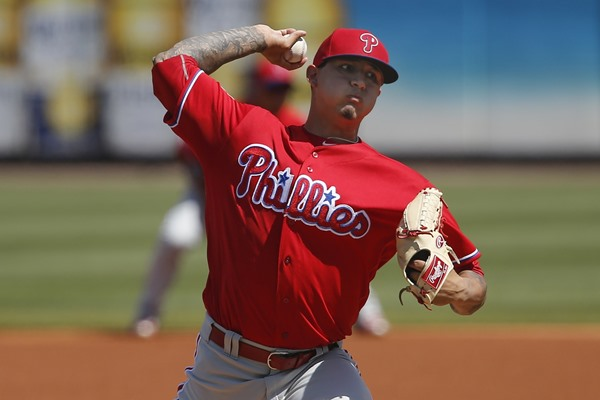 Phillies SP Vincent Velasquez Activated from 15-day Disabled List