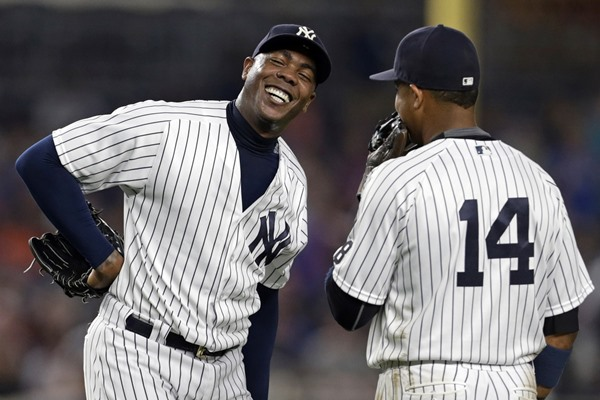 What Aroldis Chapman to the Cubs Means From a Fantasy Perspective