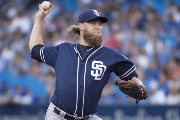 Padres Trade Andrew Cashner to Marlins in Seven-Player Deal
