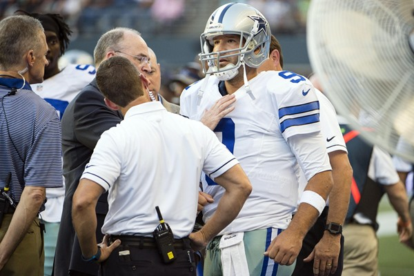 Fantasy Impact of Tony Romo's Injury