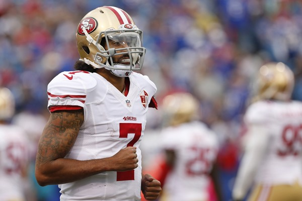 Now Starting, What is Colin Kaepernick's Fantasy Value?