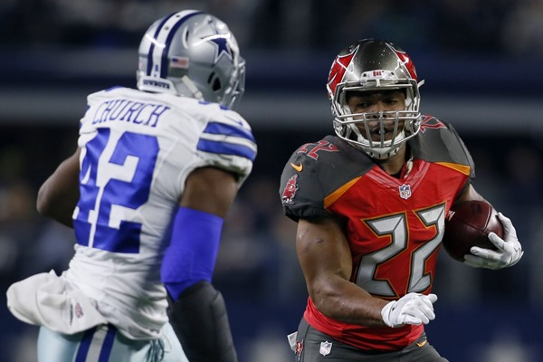 Fantasy Impact of Doug Martin's Four-Game Suspension
