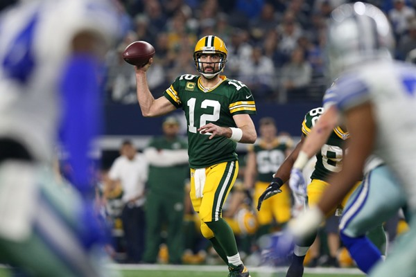 Aaron Rodgers, Packers Head to NFC Championship Game After Thwarting Cowboys' Comeback