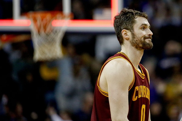 Cavaliers F Kevin Love Will not Play Monday Against the Mavericks