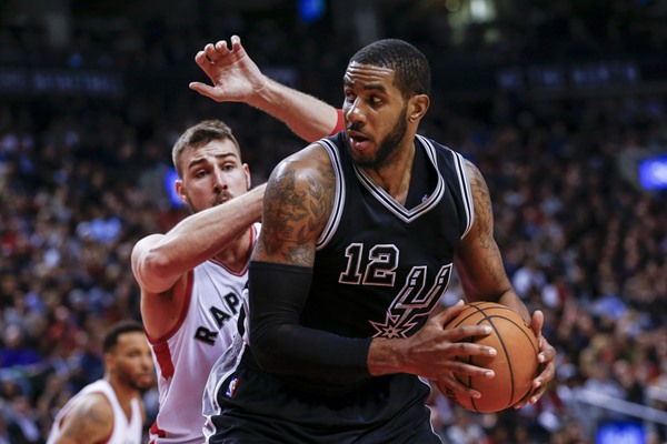 Spurs F LaMarcus Aldridge Out Thursday with Sore Knee