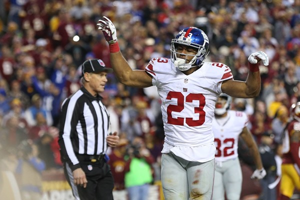 Fantasy Impact: Giants Release Rashad Jennings