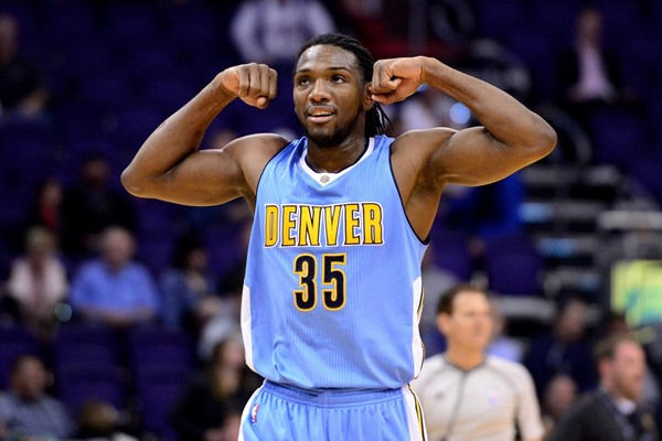 Nuggets F Kenneth Faried Out Monday Against the Warriors