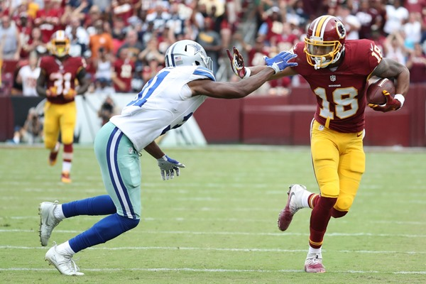 Josh Doctson Running Drills in Return from Achilles Injury