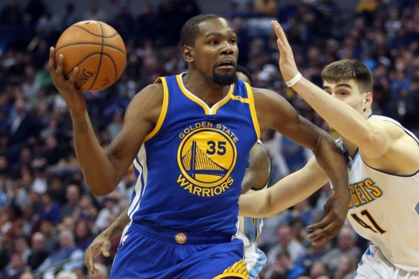 Warriors F Kevin Durant (hand) Ruled OUT for Saturday's Game