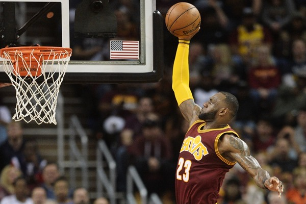 Cavaliers Forward LeBron James (Illness) Ruled Out for Saturday's Game
