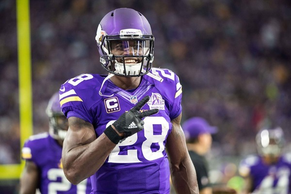 Fantasy Slant: Vikings Decline Option on Adrian Peterson, Set to Become Free Agent