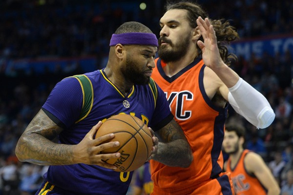 Pelicans C DeMarcus Cousins Suspended for Wednesday's Game Against the Pistons