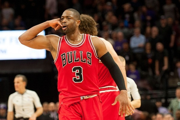 Dwyane Wade, Rajon Rondo Questionable for Bulls on Monday