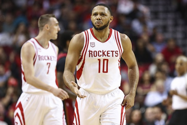 Rockets G Eric Gordon to Star, Ryan Anderson Out on Wednesday