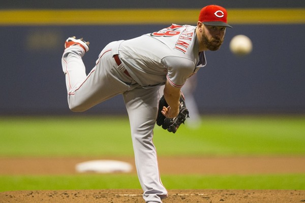 Injury Alert: Reds SP Anthony DeSclafani Diagnosed with Sprained UCL