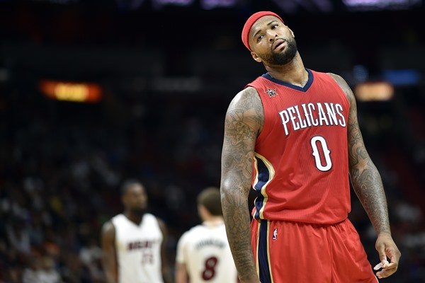 Pelicans C Demarcus Cousins (Knee) Ruled Out for Friday's Game