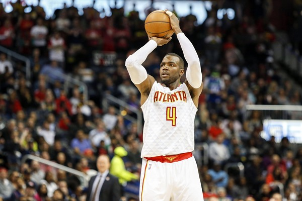 Hawks F Paul Millsap Ruled Out Two Games with Knee Injury