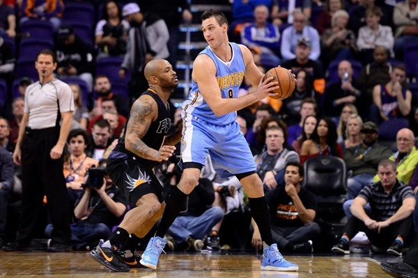Nuggets F Danilo Gallinari Out Monday Against the Rockets