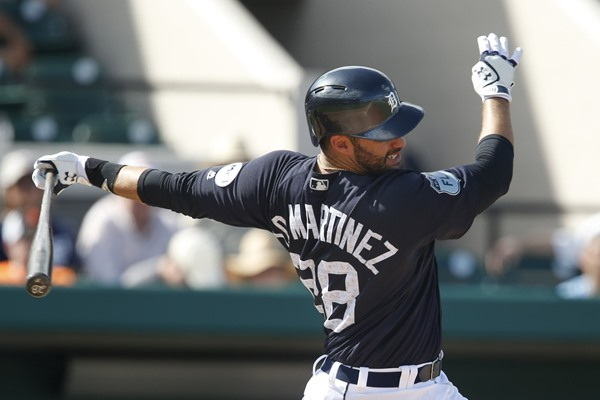 Tigers OF J.D. Martinez to Have CT Scan on Injured Foot Friday