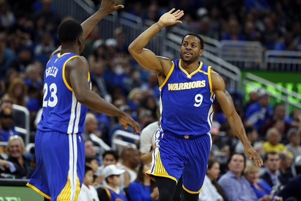 Warriors F Andre Iguodala Out Tuesday Against the Mavericks