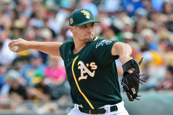 Athletics Name Kendall Graveman Opening Day Starter