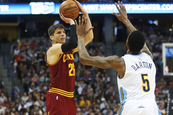 Cavaliers G Kyle Korver Will Not Play Monday