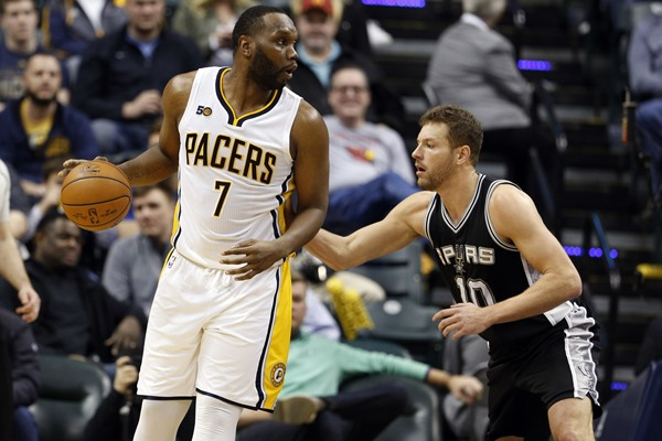 Pacers C Al Jefferson Out At Least Two Weeks