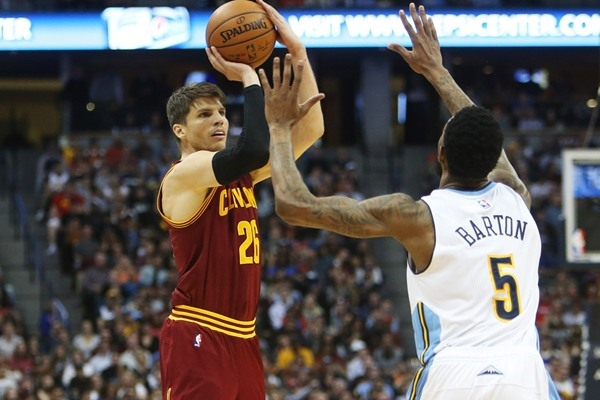 Injury Update: Cavaliers G Kyle Korver Out At Least the Next Three Games