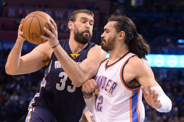 Grizzlies C Marc Gasol Out Wednesday Against the Pacers