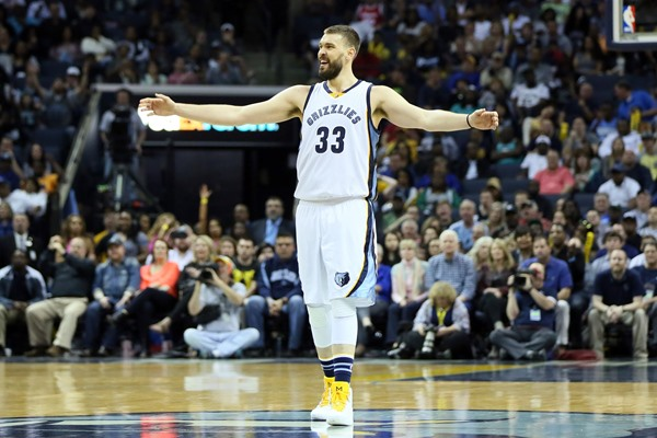 Grizzlies C Marc Gasol (foot) Ruled Out for Friday