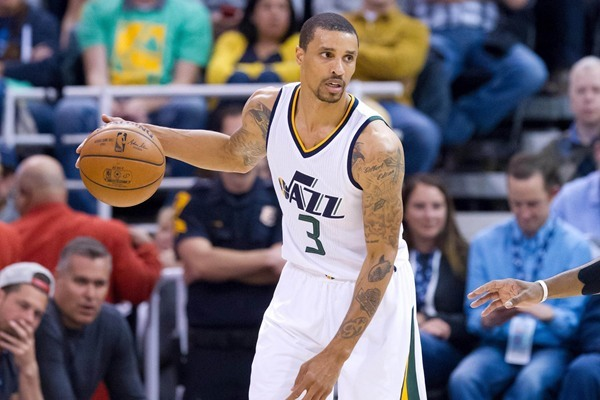 Jazz G George Hill Out Tuesday Against the Blazers